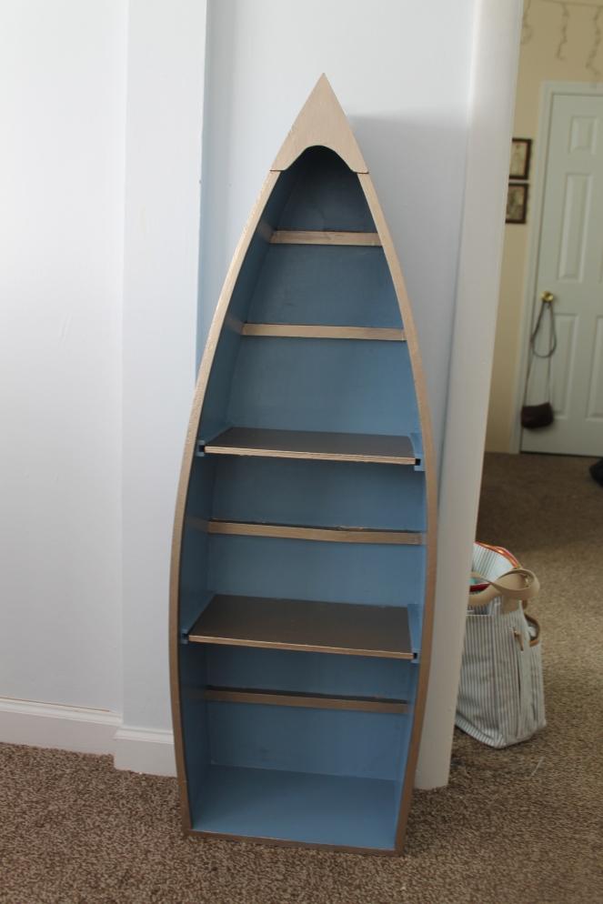 bookshelf after.